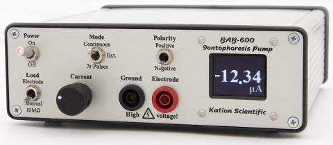 BAB-600 microampere iontophoresis pump kit